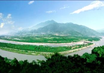 都江堰水利工程图片