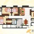 兆顺第一城兆顺第一城D1户型3室2厅2卫1 三居  户型图