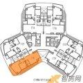 万通台北2011 一居  户型图