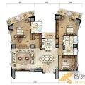 万通台北2011万通台北2011C2-8户型图4室2 四居  户型图