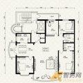 金泰湖滨绿茵G5-E户型4室2厅2卫1厨 四居 -150㎡ 户型图