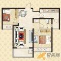重汽翡翠东郡重汽翡翠东郡13号楼标准层A2 一居  户型图