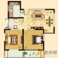 齐河德百玫瑰园齐河德百玫瑰园G户型2室1厅1 两居  户型图