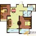 容大东海岸容大东海岸S户型2室2厅1卫1厨 两居  户型图