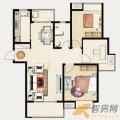 重汽翡翠东郡重汽翡翠东郡15-16#楼A1户型3 三居  户型图