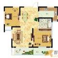 齐河德百玫瑰园齐河德百玫瑰园5、8号楼B户型 一居  户型图