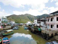香港大屿山图片