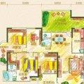 黔灵文峰苑2单元4号房户型4室2厅2卫1厨 一居 146㎡ 户型图