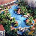 天來泉養生俱樂部 景觀園林 天來泉養生俱樂部泳池效果圖