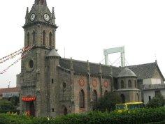 江北天主教堂图片