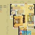 俊发时光俊园A5户型2室2厅1卫1厨  两居 70㎡ 户型图