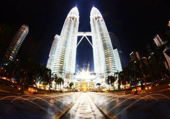圣淘沙音乐喷泉图片