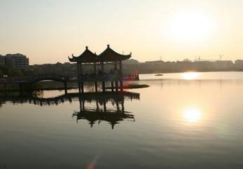 永川卫星湖图片