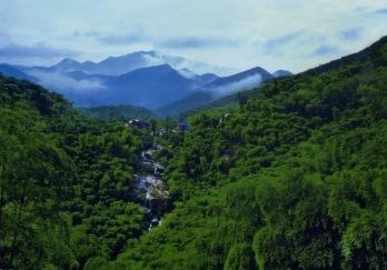 杭州山沟沟风景区图片