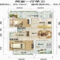 清澜半岛69平 两房 一居  户型图