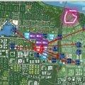 空港家园 建筑规划 空港一号区位图