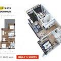 普吉岛VIP KATA公寓Type-C(69 一居  户型图