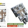普吉岛VIP KATA公寓Type-D(63 一居  户型图