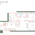 马来西亚吉隆坡伊顿公寓伊顿户型B7 一居 81㎡ 户型图