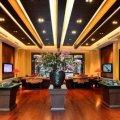 丽江天瑞豪生 样板间 紫金扇私人会所-会客厅