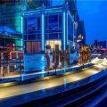 东莞德洲城 建筑规划 一期大门口夜景
