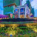 东莞德洲城 建筑规划 在建时的特写