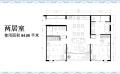 卡倫貴族海景公寓兩室一廳  84㎡ 戶型圖