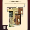 涿州京南一品 一居  户型图