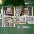 霸州胜芳观成兰苑 样板间 三室两厅一卫的105样板间