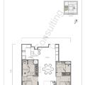 The W Residence丽阳豪庭二居室 两居 102.5㎡ 户型图