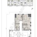 The W Residence丽阳豪庭二居室 两居 103.5㎡ 户型图