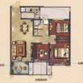 天河理想城 一居  户型图
