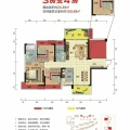 雁城·国际公馆 一居  户型图