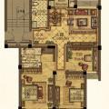 海宁卡森卫星城 三居  户型图
