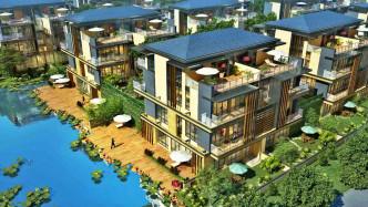 依山傍水,《中国4A级风景区》凤凰山内的景区别墅,总均价300万