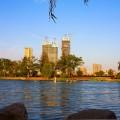 湖畔御園 景觀園林 湖畔御園湖景圖