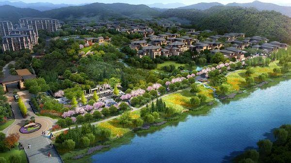 安吉凤凰山风景