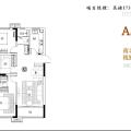 新滨湖孔雀城高层 三居 95㎡ 户型图