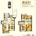 江南城 一居  户型图