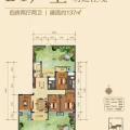 桂林万达城B1户型 四居 137㎡㎡ 户型图
