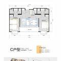 普吉岛公寓水星之城71平两室一厅 两居 71㎡ 户型图