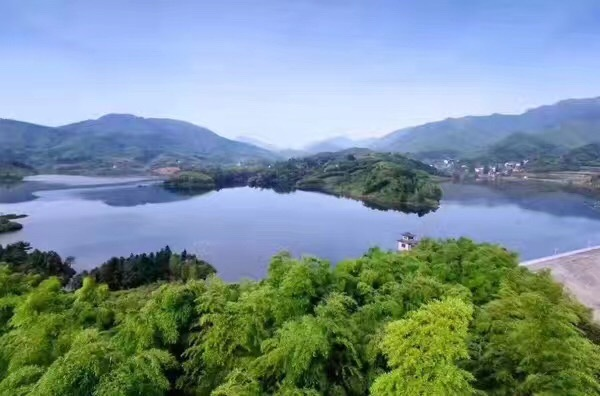 湖州夏天自然风景图片