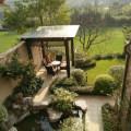 安吉绿城龙王溪小镇 样板间 精装花园