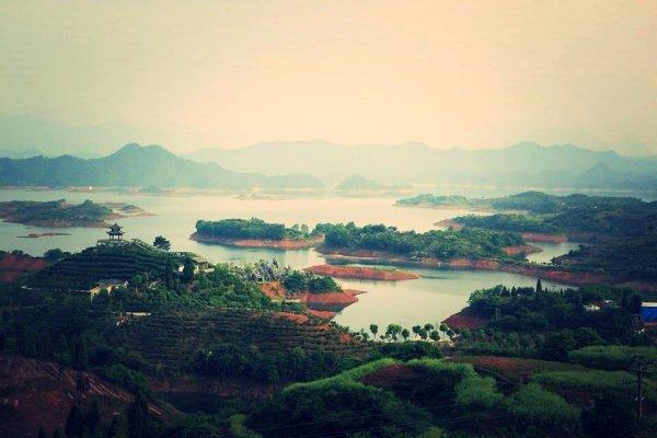 杭州【绿城·千岛明月】千岛取一岛静躺月床,湖景别墅