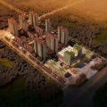 白沟新区万兴达广场 建筑规划 住宅区周边商业