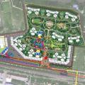 美的。花湾城 建筑规划