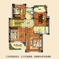 紫云东郡主卧套房设计 一居 240平㎡ 户型图