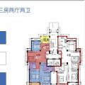 和昌钱塘外滩海宁长安镇和昌钱塘外滩 三居 126㎡ 户型图