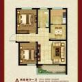 东仙坡养老社区从容两居 两居 71.52㎡ 户型图