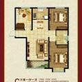 东仙坡养老社区 三居  户型图